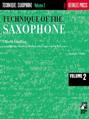 Technique of the Saxophone By Viola, Joseph